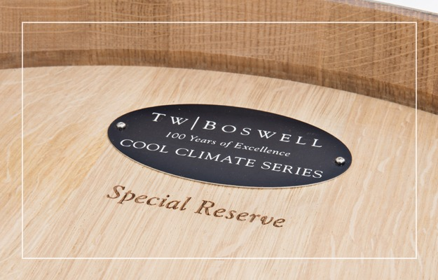 T.W. Boswell French Oak Collection Cool Climate Series Wine Barrels