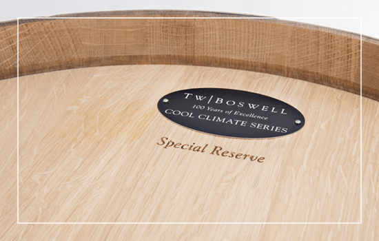 T.W. Boswell Special Reserve barrel