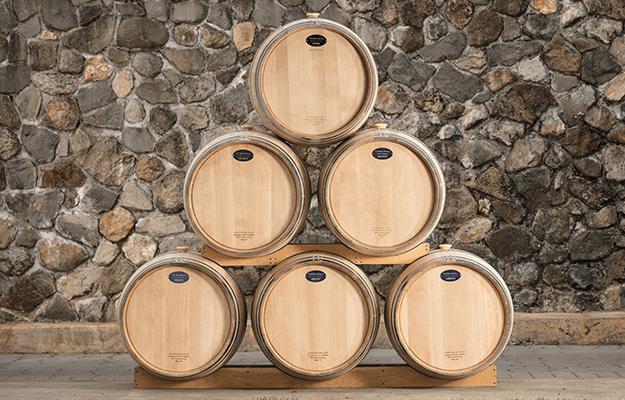 T.W. Boswell American Oak Wine Barrel